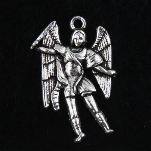 20pcs Tibetan Silver Angel Charms Pendants for Jewelry Making 26mm ABF170
