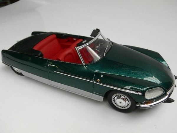 1 18 norev metal 18 Citroen DS 21 chapron Palm Beach verde metalizado