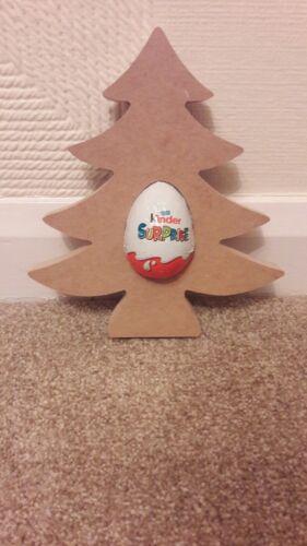 20cm-Santa árboles Pié Mdf Navidad Kinder formas sombreros y más