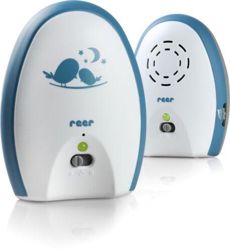 Reer 50010 neo 200 teléfono para bebés monitor de bebés con analógico 2-canal técnica