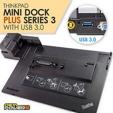 Thinkpad Mini Docking Station Plus USB 3.0 Lenovo T510 L420 L430 L520 W520 W530