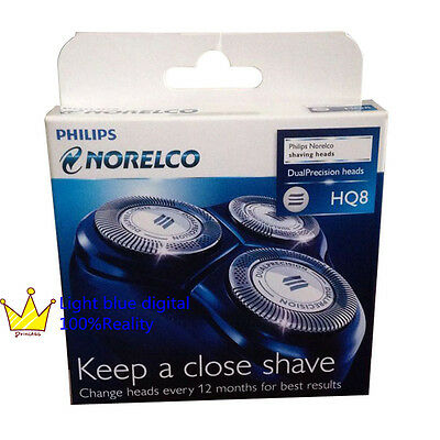 Philips Norelco HQ8 Replacement shaving Blades Dual Precision cutter=HQ57/HQ177