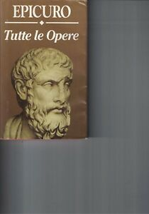 TUTTE LE OPERE - EPICURO - 1993