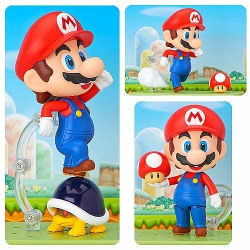Super Mario Bros.  MARIO  4-Inch Nendoroid Figure by Good Smile Co  2018