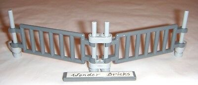 Road Block ** Adjustable Angle ** 10244 Ladder Lego Bar Fences