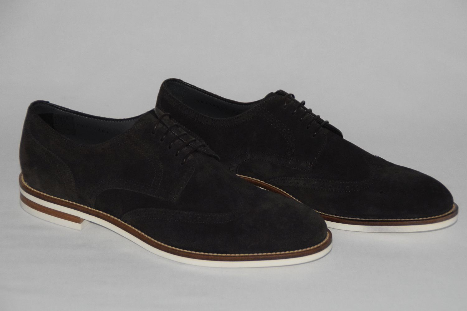 HUGO BOSS scarpe, Mod.Deeder -SD, Gr. EU 43    UK 9   US 10, Dark Marronee  100% nuovo di zecca con qualità originale