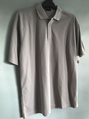 BNWT Mens Sz 3XL//Ladies 24 LW Reid Brand Medium Grey Short Sleeve Polo Top Shirt