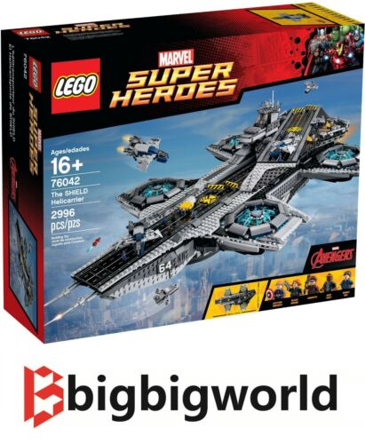 LEGO 76042 Marvel Super Hero The SHIELD Helicarrier BRAND NEW SEALED BOX