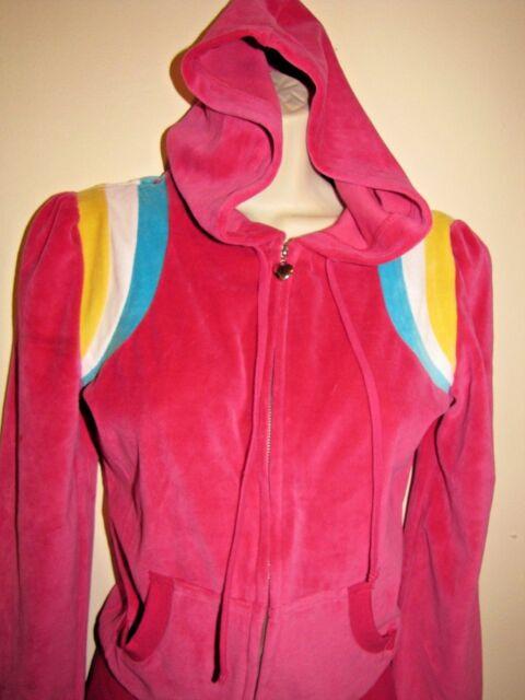 Love by Design Pink Hoodie Jacket Sz Medium With Kangaroo Pockets NWT