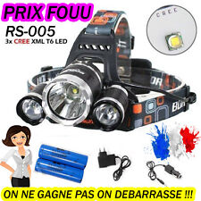 SWAT POLICE 1000M LAMPE TORCHE FRONTALE 6000 LUMENS LED FLASHLIGHT + ACC