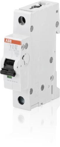 ABB Minature Circuit Breaker 1 Pole 6 Amp SP C-TYPE S201C6 6ka