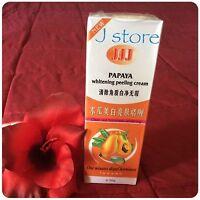 3 Jjj Papaya Skin Whitening Peeling Gel Instant Exfoliator Remove Deep Dirt 100g