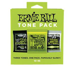 ERNIE-BALL-ELECTRIC-TONE-PACK-Set-di-3-Mute-per-Elettrica-Regular-Slinky-10-46
