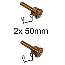 """Tauchhülse Messing DN12 1//2/"""" 6 x 50mm Pufferspeicher Kaminöfen Heizung"""