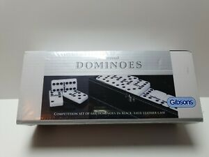 Traditional-Dominoes-in-Black-Faux-Leather-Case-B1