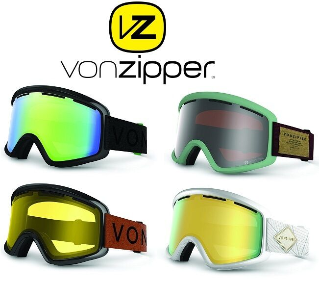 VONZIPPER BEEFY ADULT  SKI   SNOWBOARD GOGGLES, MULTIPLE COLORS   BRAND NEW     new style