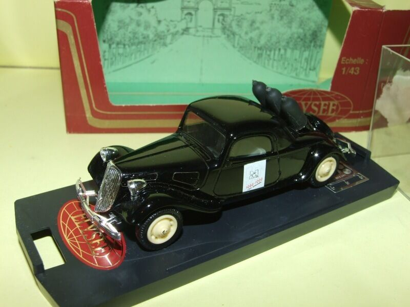 CITROEN TRACTION TRACTION TRACTION COUPE 50 ANS DU DEBARQUEMENT 1944-1994 ELYSEE 558 1 43 63cecf