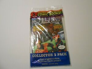 Marvel and DC Comic Book Collector 5 Pack NIB