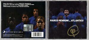 MARCO-MENGONI-Atlantico-Cd-autografato-Autografo-Signed-Album-Music