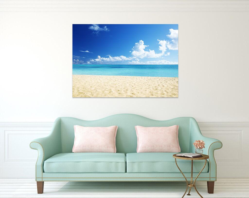 3D Himmel Wolke Meer Strand 854 Fototapeten Wandbild BildTapete AJSTORE DE Lemon