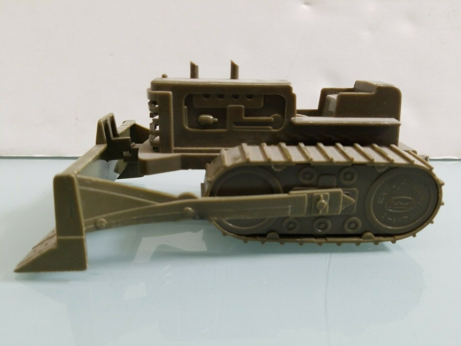 Ideal Toy U.S.Army Corps of Engineers Bulldozer Plastic Molded