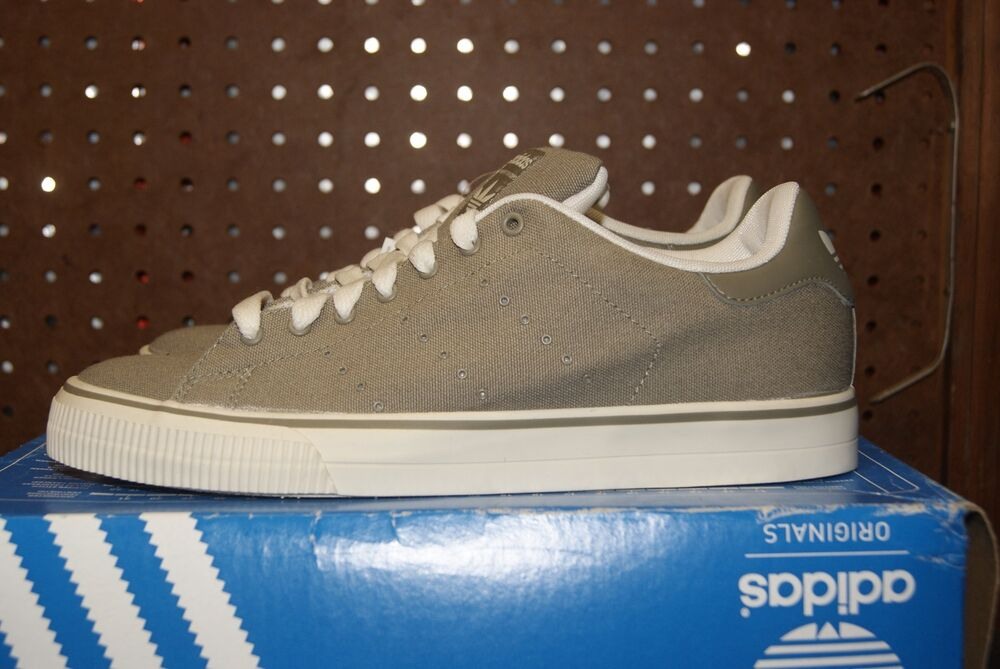 buy online aac91 cf4bc Mens Adidas Alameda Vulc chaussures Sz 8 Sneakers Clay Clay Chalk 2