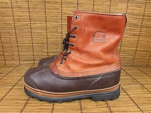 VINTAGE SOREL CHIEFTAIN KAUFMAN MENS INSULATED SNOW BOOTS SIZE 11 ...
