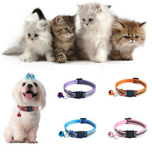Collier-tete-de-chat-de-la-boucle-de-la-securite-chat-chaton-mode-multicolore
