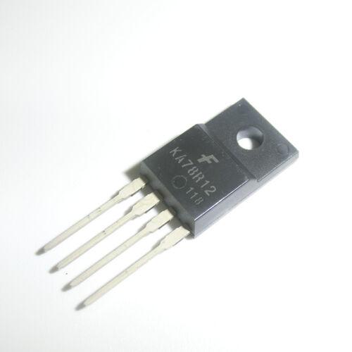 5PCS KA78R12 KA78R12CTU 1A Output Low Dropout Voltage Regulators TO-220F-4