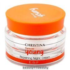 Christina Forever Young Repairing Night Cream Anti Age +  samples