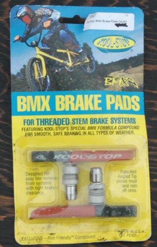 NOS Kool-Stop Brake Pads Dual Comp Threaded Old School BMX Bike Bicycle KS-BMXDL