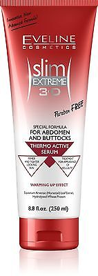 Slim Extreme 3D Thermo Active Serum Shaping Waist, Abdomen and Buttocks(8.8 oz)