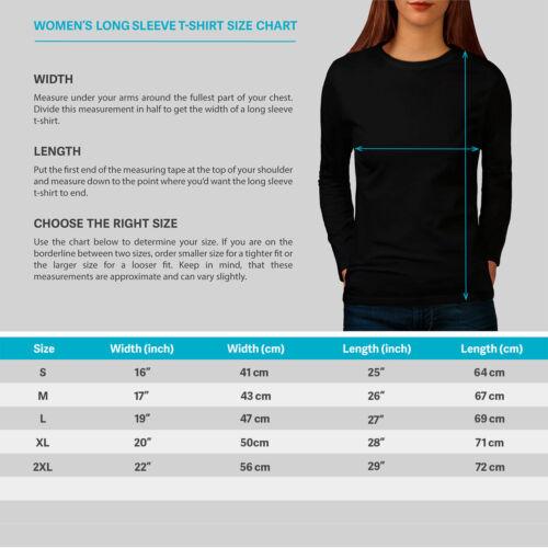 Music Casual Design Wellcoda Rock Guitar Roses Music Womens Long Sleeve T-shirt