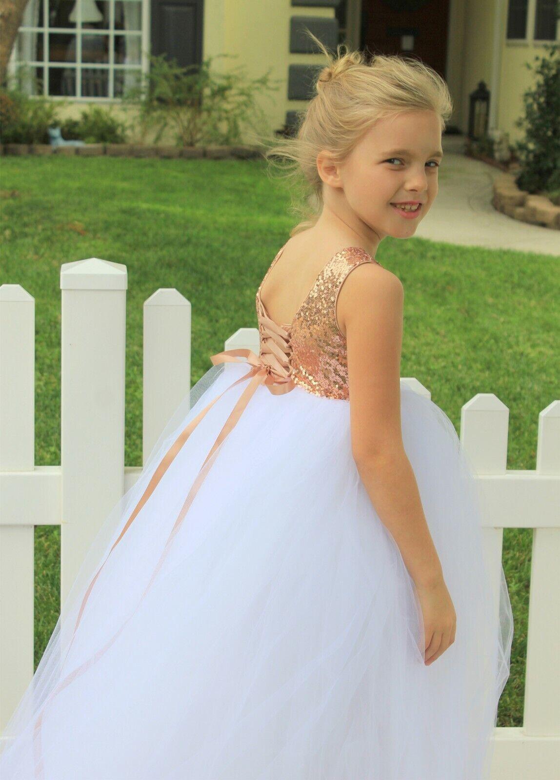 Corset Tutu Flower Girl Dress Tulle Dresses Girls Dresses Birthday Dress Baptism