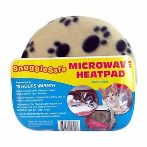 Details About Snugglesafe Microwave Heat Pad Aid Pillow For Pets Dog Car Puppy Kitten Rabbit
