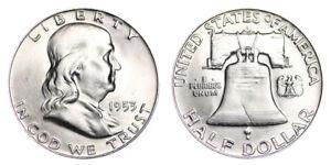 1953-D-Franklin-Half-Dollar-Brilliant-Uncirculated-BU