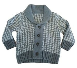 Boys-Baby-Cardigan-Knitted-Jumper-Sweater-Jacket-Smart-Casual-Ex-M-S-Autograph