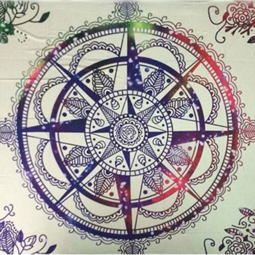 Indian Mandala Tapestry Wall Hanging Decor Bohemian Hippie Queen Bedspread Throw