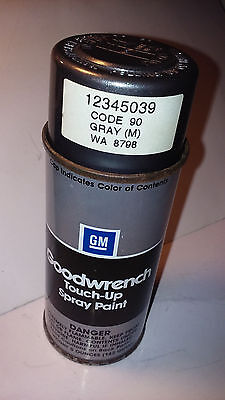 Touch Up Spray Paint >> GM Goodwrench Touch-Up Spray Paint, Gray Metallic, Code 90 ...