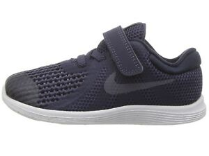 910862404d Nike Toddler's Revolution 4 (TDV) Running Shoes 943304 501 Indigo ...
