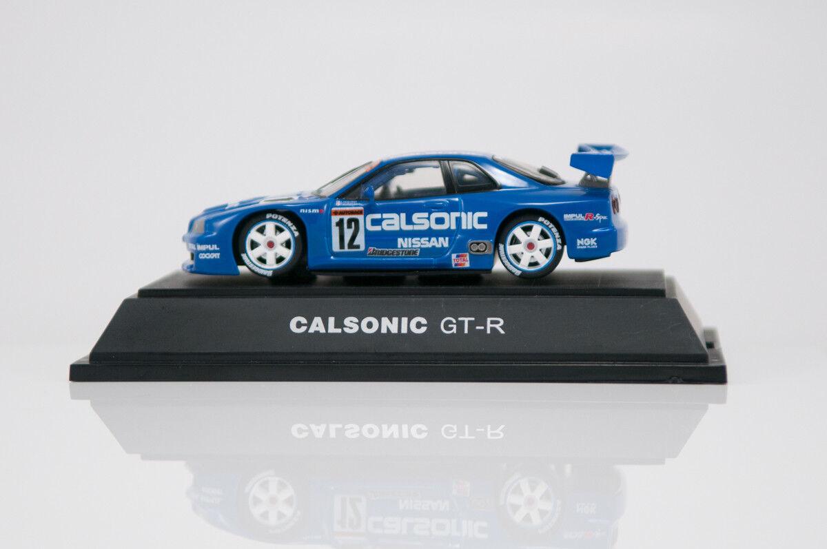 1 43 Ebbro  64 Calsonic Nissan Skyline GT-R BNR34 blu IMPUL 12 NISMO rare