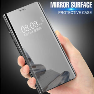 the latest 93c05 0dad8 Details about Clear View Mirror Flip Stand Case Cover For Xiaomi Mi 6 8 SE  A1 Redmi Note 5 Pro
