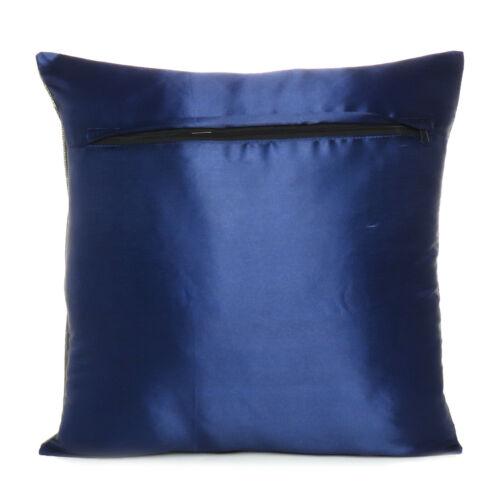 "Brocade Elephant Cushion Cover Throw Home Decor Handmade Silk Sofa Pillowcase16/"""