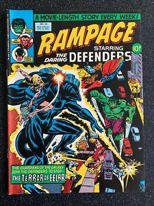 Marvel RAMPAGE starring the DARING DEFENDERS - No 26 - 1978 - UK Marvel Comic