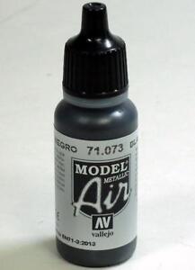 Vallejo-Black-Metallic-Paint-17ml-Bottle-Model-Air-VAL-71073