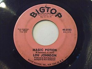 Lou-Johnson-Magic-Potion-Reach-Out-For-Me-45-1963-Big-Top-Vinyl-Record