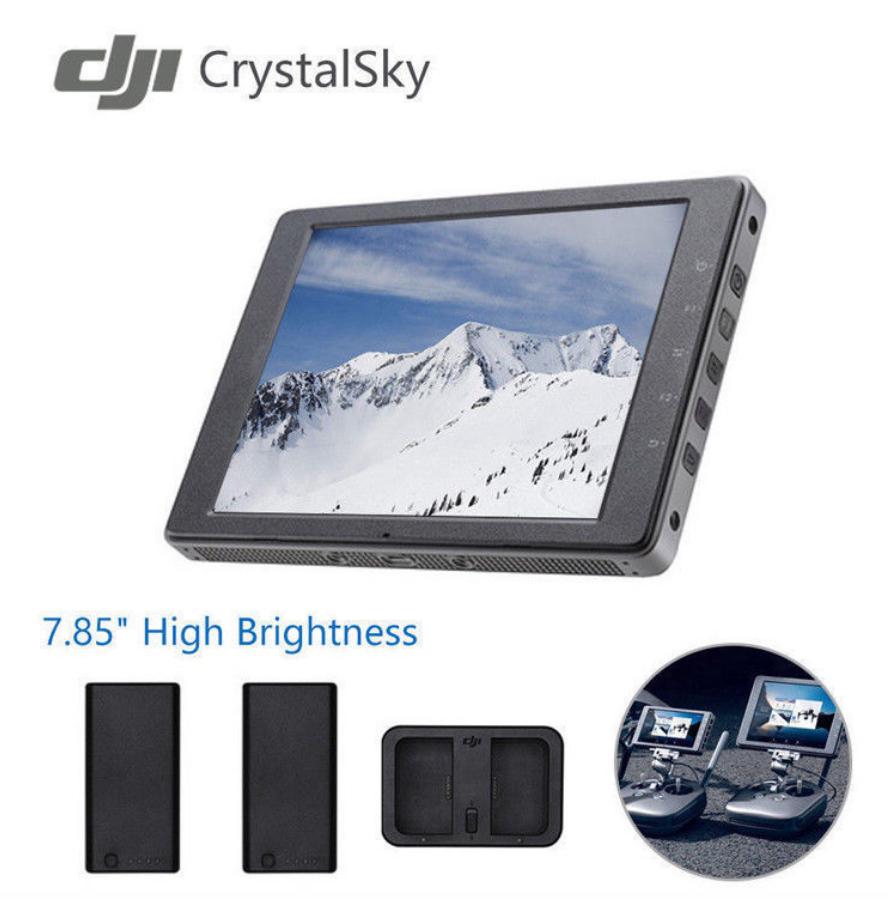 Dji Crystalsky 7 85 High Brightness 1000 Cd M Lcd Qxga Hd Display Monitor For Sale Online Ebay
