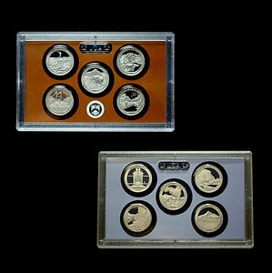 2010-2011-S-America-the-Beautiful-National-Park-Proof-Sets-in-Original-Lens-Case