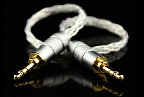 """PRO  Stereo Audio Cable with 1//8/"""" TRS Connectors 20cm"""