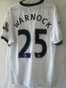 Aston-Villa-2009-2010-Match-Worn-Warnock-Away-Football-Shirt-Size-Large-14489